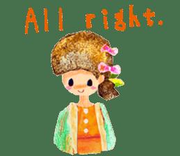Mori--girl sticker #2224590