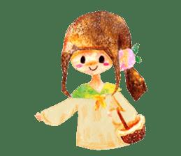 Mori--girl sticker #2224601