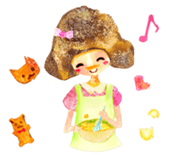 Mori--girl sticker #2224623