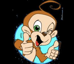 Rocky the Chimp & Miss Mia! sticker #3040452