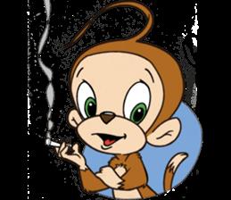 Rocky the Chimp & Miss Mia! sticker #3040472