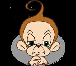Rocky the Chimp & Miss Mia! sticker #3040480