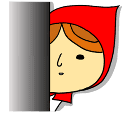 Little Red Riding-Hood.ENGLISH ver sticker #3176469