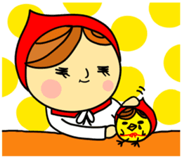 Little Red Riding-Hood.ENGLISH ver sticker #3176470