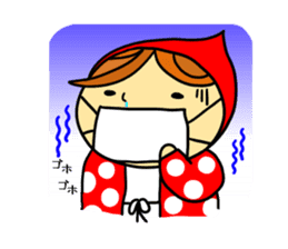 Little Red Riding-Hood.ENGLISH ver sticker #3176480