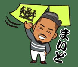 JUNCTION PRODUCE C.E.O. TAKETOMI-SAN sticker #4979893