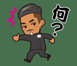 JUNCTION PRODUCE C.E.O. TAKETOMI-SAN sticker #4979899