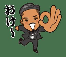JUNCTION PRODUCE C.E.O. TAKETOMI-SAN sticker #4979911