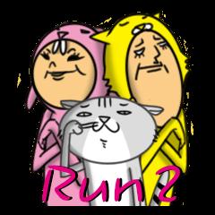 Cat Daddy & Bunny Girl II (Kitty MarNee)