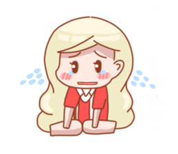 Amaria Little Girl (English) sticker #6410305