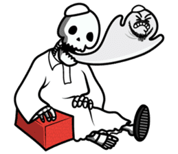 Laz Laz The Blob sticker #6991922