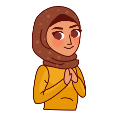 Jihab Muslim Stickers - Daily Use