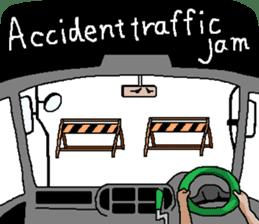 trucker(english) sticker #7098374