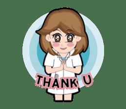 Irene Puffy Cheek Girl 01 (Eng) sticker #8102197