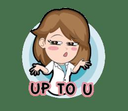Irene Puffy Cheek Girl 01 (Eng) sticker #8102203