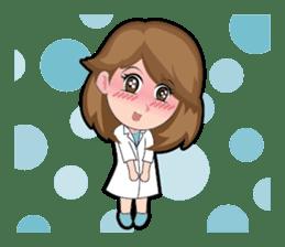 Irene Puffy Cheek Girl 01 (Eng) sticker #8102208