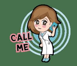 Irene Puffy Cheek Girl 01 (Eng) sticker #8102213
