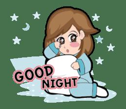 Irene Puffy Cheek Girl 01 (Eng) sticker #8102217