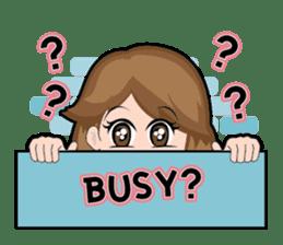 Irene Puffy Cheek Girl 01 (Eng) sticker #8102218