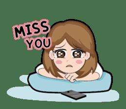 Irene Puffy Cheek Girl 01 (Eng) sticker #8102220