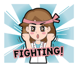 Irene Puffy Cheek Girl 01 (Eng) sticker #8102221