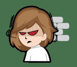 Irene Puffy Cheek Girl 01 (Eng) sticker #8102234