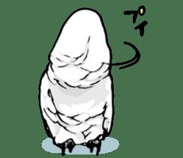 Mischievous parrot sticker #8562225
