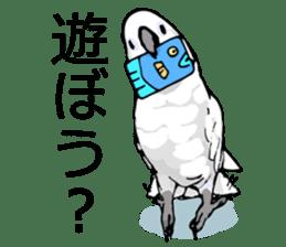 Mischievous parrot sticker #8562228