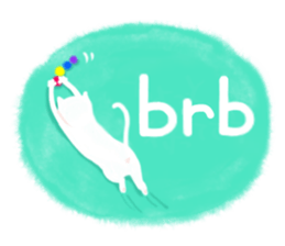 BLANC & NOIR English ver. sticker #8784090