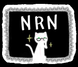 BLANC & NOIR English ver. sticker #8784097