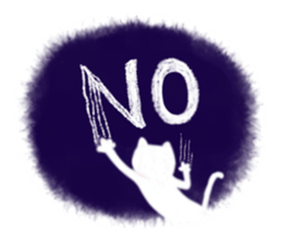 BLANC & NOIR English ver. sticker #8784111