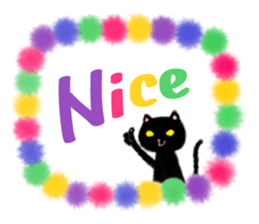 BLANC & NOIR English ver. sticker #8784121