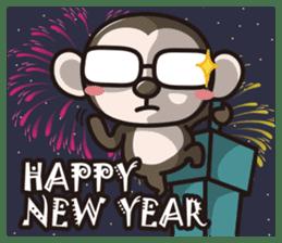 Happy New Year (English Version) sticker #9163763