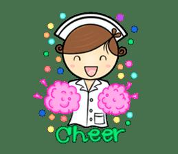 Po.Klom vol.nurse sticker #9220193