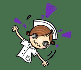 Po.Klom vol.nurse sticker #9220194