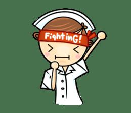 Po.Klom vol.nurse sticker #9220196