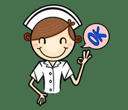 Po.Klom vol.nurse sticker #9220206