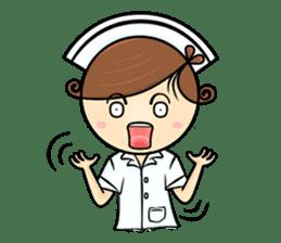 Po.Klom vol.nurse sticker #9220207