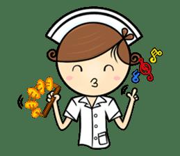 Po.Klom vol.nurse sticker #9220209