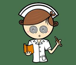 Po.Klom vol.nurse sticker #9220218