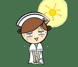 Po.Klom vol.nurse sticker #9220220