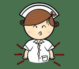 Po.Klom vol.nurse sticker #9220224