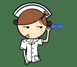 Po.Klom vol.nurse sticker #9220227