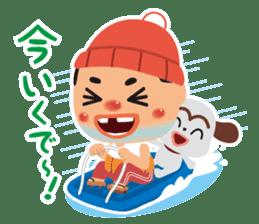 OSSAN(winter ver.) sticker #9300985