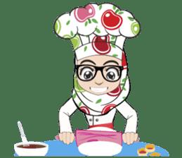 Aaila Muslim Mah Top Chef V.Eng sticker #9306868