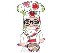 Aaila Muslim Mah Top Chef V.Eng sticker #9306870