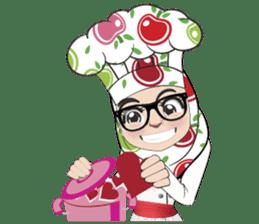 Aaila Muslim Mah Top Chef V.Eng sticker #9306873
