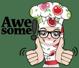 Aaila Muslim Mah Top Chef V.Eng sticker #9306881