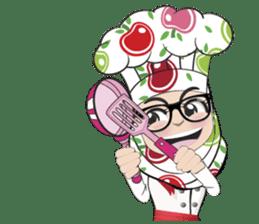 Aaila Muslim Mah Top Chef V.Eng sticker #9306884