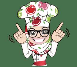 Aaila Muslim Mah Top Chef V.Eng sticker #9306890